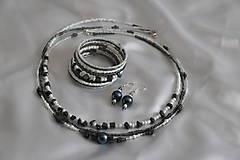 Sady šperkov - Súprava s hematitom - 8027128_