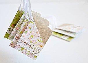 Papiernictvo - Kvetinové menovky - 8027404_