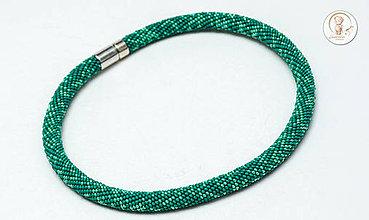 Handmade šperky náhrdelníky korálkové lepené   SAShE.sk 733ce47f278