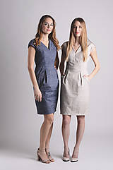 Šaty - Šaty Déva | námornícka - 8026846_