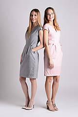 Šaty - Šaty Déva | ružová-lososová - 8026864_