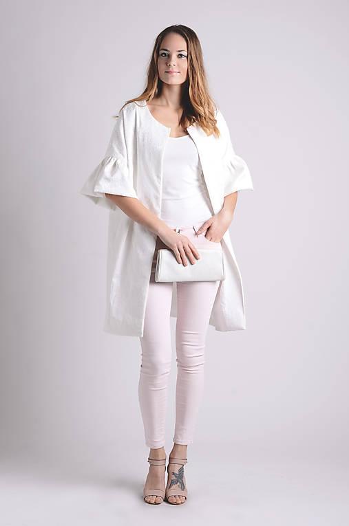 Kabát Fehérke | jediný kus
