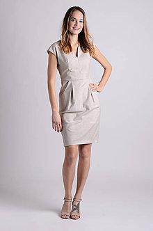 Šaty - Šaty Déva   béžová - 8026764_