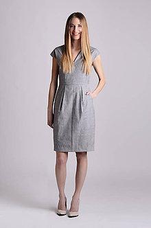 Šaty - Šaty Déva   sivá - 8026820_