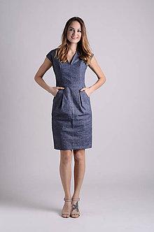 Šaty - Šaty Déva   námornícka - 8026844_