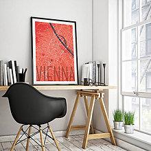 Obrazy - VIEDEŇ, elegantná, červená - 8025303_