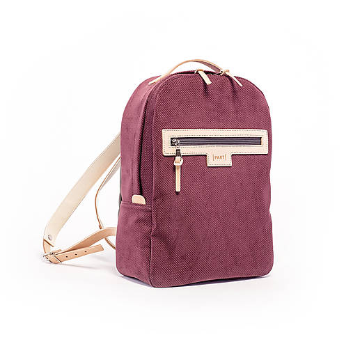 Backpack Velvet bordo