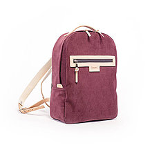 Batohy - Backpack Velvet bordo - 8025472_