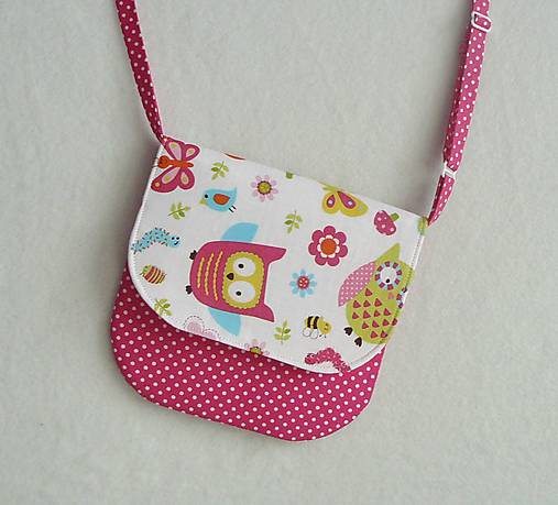 074ea2fbe Detská kabelka sovičková č.1 / LEAN - SAShE.sk - Handmade Detské tašky