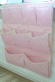 Textil - Vreckár na postieľku - 8028194_