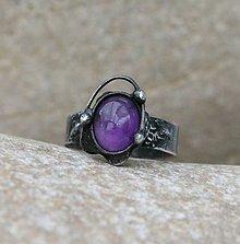 Prstene - Ametyst prsteň - 8026017_