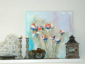 Obrazy - kvety na lúke - 8026024_