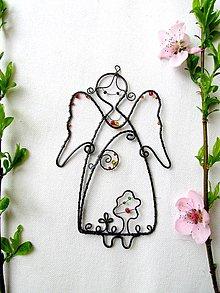 Detské doplnky - Radostný anjel - 8025089_