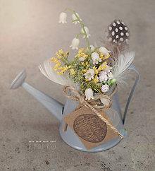 Dekorácie - Veľkonočná mini dekorácia - 8024975_