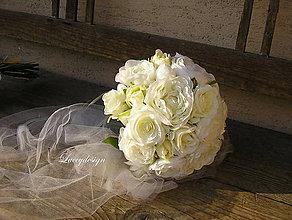 "Kytice pre nevestu - svadobná kytica:""Ellen"" - 8027979_"