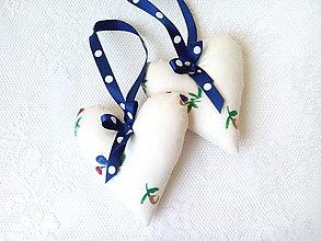 Dekorácie - Easter hearts - 8029376_