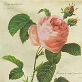- S1011 - Servítky - ruža, ružička, roses, vintage, romantika - 8028968_