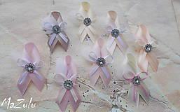 Pierka - svadobné pierka v nežnej pastelovej - 8031055_