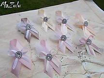 Pierka - svadobné pierka v nežnej pastelovej - 8031063_