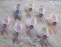 Pierka - svadobné pierka v nežnej pastelovej - 8031064_