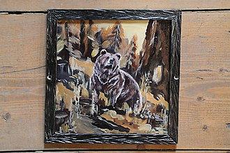 Obrazy - Medveď - 8031702_