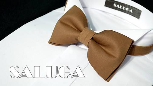 87a7dffb6 Hnedý pánsky motýlik / SALUGA - SAShE.sk - Handmade Doplnky