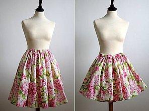 Detské oblečenie - sukničky pre sestričky - 8030568_