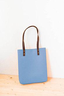 Kabelky - Urban... steel blue... Felt & Leather... - 8029831_