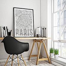 Obrazy - PARÍŽ, elegantný, biely - 8031516_