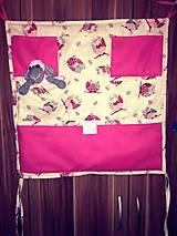 Textil - Vreckár na postieľku / organizér - 8029841_