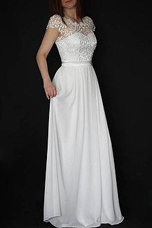 Šaty - Svadobné šaty v ľudovom štýle - 8030818_