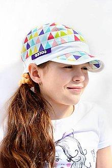 Detské čiapky - Letná šiltovka TRIANGLE RAINBOW - 8032242_