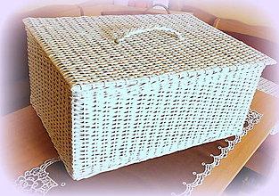 Košíky - Košík - truhlica veľká  - 8030392_