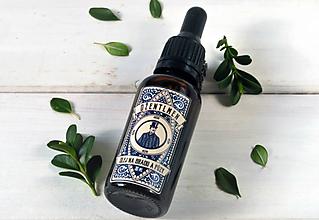 Drogéria - Džentlmen - pestujúci olej na bradu a fúzy (30ml, sklo) - 8033815_