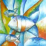 Obrazy - Život vo vode - 8033173_