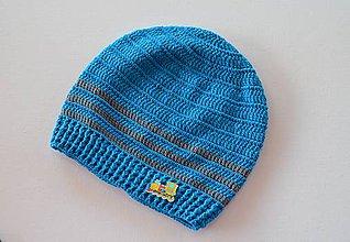 Detské čiapky - Skladom- Háčkovaná čiapka - 8034903_