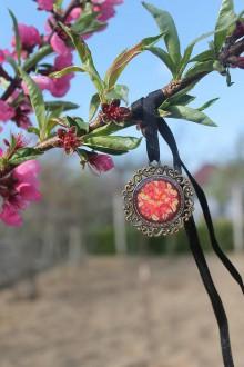 Iné šperky - Prívesok Mandala kvety - 8035171_