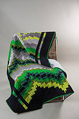 Green bargello