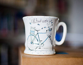 Nádoby - Šálka na čaj alebo kávu - Let´s Have Some Fun - 8033675_