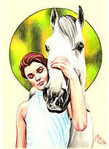 Kresby - Love my Horse - 8033974_
