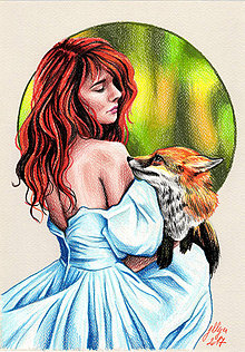 Kresby - Dancing with fox - 8033950_