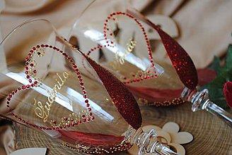 Nádoby - Svadobné poháre - 8038557_