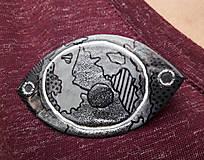 Odznaky/Brošne - Brošnička s mapou - 8039316_