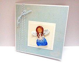 Papiernictvo - Pohľadnica k narodeniu chlapčeka - 8038324_