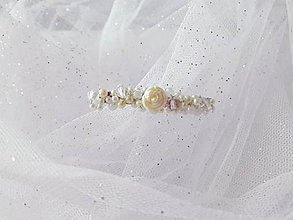 Iné šperky - Svadobná sponka  - 8035859_