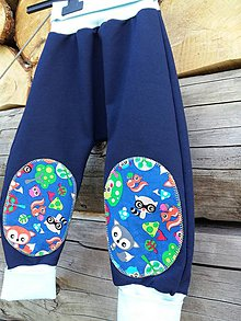 Detské oblečenie - Líščia nora - modrá1 - 8038211_