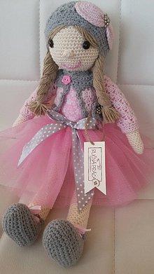 Hračky - Háčkovaná bábika - 8037590_