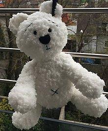Hračky - Macko snehobiely - 8036699_