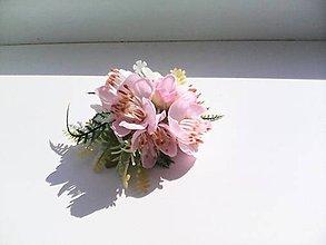 """Ozdoby do vlasov - Gumička do vlasov """"...ružová..."""" - 8035734_"""