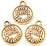 - Prívesok MY BEST FRIEND - 8036752_
